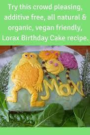 All Natural Vegan Kids Birthday Cake Recipe Living Safe