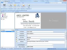 business card management software inspirational ez business card management