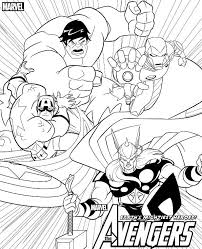 Small Picture Kids n funcom 18 coloring pages of Avengers