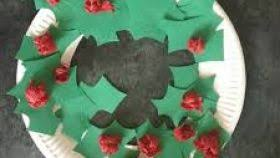 288 Best Christmas School Art Images On Pinterest  Christmas Christmas Crafts Using Paper Plates