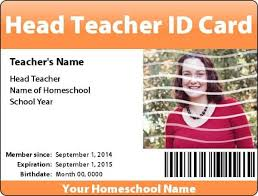 Homeschooling Teacher Ids And Student Basics Free