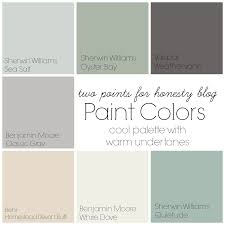 House Paint Color Palette