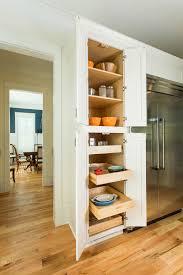 image of oak pantry cabinet modern