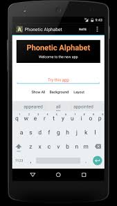 Phonetic alphabet for international communication where it is sometimes important to provide correct information. Nato Phonetic Alphabet For Android Apk Download