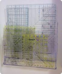 Great idea for organizing quilt rulers StitchinByTheLake: No ... & Sewing/quilting ruler organization Adamdwight.com