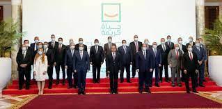 الرئيس السيسي يجتمع برجال الأعمال المشاركين في مبادرة حياة كريمة