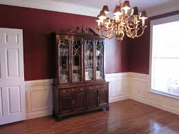Paint Colors For Dining Room With Dark Furniture MonclerFactory - Dining room color ideas with chair rail