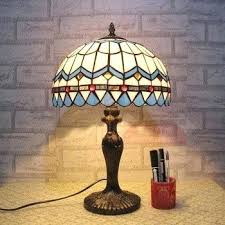 coloured glass table lamps colored handmade