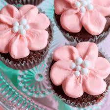 Pretty Flower Cupcake Designs Gardening Flower And Vegetables