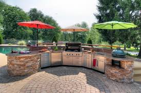 Poolside Outdoor Kitchen   Contemporary   Patio   St Louis   By .