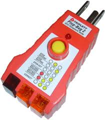 Why Does My Gfci Outlet Have A Yellow Light Buy Triplett Plug Bug 2 9610 Gfci Receptacle Outlet Tester