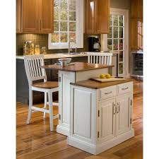 home styles woodbridge white kitchen island with seating