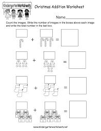 14. kindergarten christmas addition worksheet printable , free ...