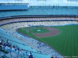 Dodger Stadium Seating Chart Infield Reserve Dodger Stadium Seat Views Section By Section
