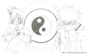 Naruto Vs Sasuke Coloring Pages Sportexcercisesinfo