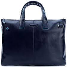 <b>Сумка</b> для ноутбука Piquadro <b>Blue Square</b> синяя CA4021B2/BLU2 ...