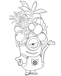 Small Picture Minion Summer Coloring Pages Coloring Pages
