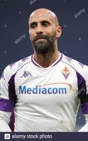 Borja Valero von ACF Fiorentina während des Serie-A-Spiels bei Giuseppe  Meazza, Mailand. Bilddatum: 29. November 2020. Bildnachweis sollte lauten:  Jonathan Moscrop/Sportimage via PA Images Stockfotografie - Alamy