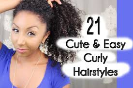 21 Cute And Easy Curly Hairstyles Biancareneetoday Youtube Nice Curly Hairstyles For Girls With Natural Curls