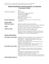 chronological resume template  executive assistant sample resume    resume format chronological  job resume format template       chronological resume template