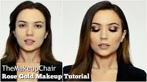 full face makeup tutorial. rose gold full face makeup tutorial | themakeupchair. permalink · gallery