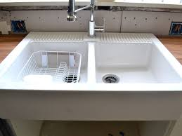 Ikea Wood Countertop Review Kitchen Sink Cozy Ikea Farmhouse Sink With Wood Countertop For