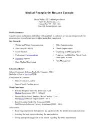medical office assistant resume sample  socialsci colinkedin profile writing medical receptionist resume example linkedin profile writing   medical office assistant resume sample