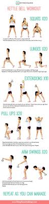 30 day fitness challenges kettle bell workout