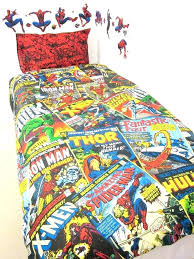 marvel twin bedding set heroes comforter best images on dreams kids rooms and bed superhero xl