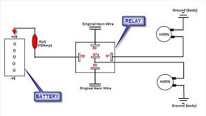 horn relay diagram wiring wiring diagram horn wiring diagram a relay wiring diagram data