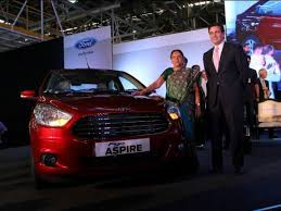 new car launches june 2015Ford Figo Aspire Unveiled Ford India Introduces Figo based