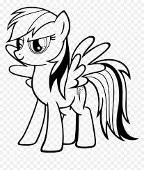 Anyway, if you're a fan of rainbow dash, you might want to get some of these rainbow dash coloring pages. My Little Pony My Little Pony Rainbow Dash Coloring Pages Hd Png Download Vhv