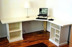 desks office desk components diy desk with printer cabinet build your own office components floating