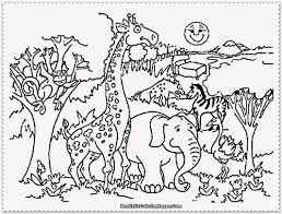 Color Coloring Pages Of Zoo Animals Fresh On Property Animal