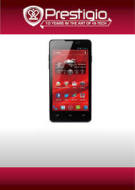 Manual Prestigio MultiPhone 4505 Duo ...