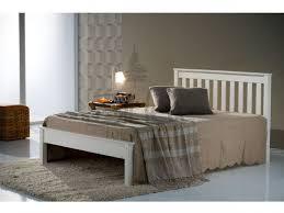 Birlea Denver 5ft Kingsize Ivory Wooden Bed Frame by Birlea