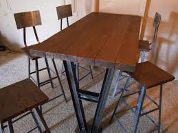 Industrial Pub Table Sets Randy Maner Twisted Arc
