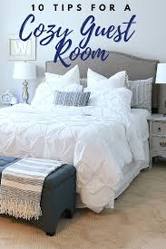 guest bedroom ideas. Beautiful Bedroom Affordable Ideas To Make Your Guest Feel Right At Home  10 Tips For A Cozy  Room My Would Never Leave Bhglivebetter AD And Guest Bedroom Ideas