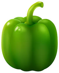 sliced green pepper clipart. Green Pepper PNG Clipart Inside Sliced