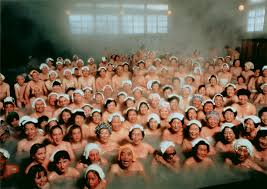 Last splash Immodest Japanese tradition of mixed bathing may be.
