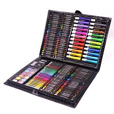 brelar 168 pieces set art painting sets for kids children drawing set water color pen