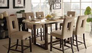 set tall dinette and amazing glass rustic style round chairs swivel inch table square pub white
