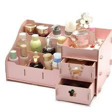 diy cosmetic organizer drawer makeup case storage insert holder box cosmetic box drawer organizer desk organizer