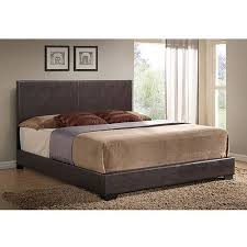 leather king bed. Plain King Ireland King Faux Leather Bed Brown In Bed X