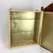 brass medicine cabinet. Simple Medicine Wood And Brass Medicine Cabinet Intended S