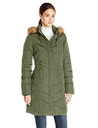 Tommy Hilfiger Women's Long Chevron-Quilted Down Coat >>> Details ... & Tommy Hilfiger Women's Long Chevron-Quilted Down Coat >>> Details can be  found Adamdwight.com