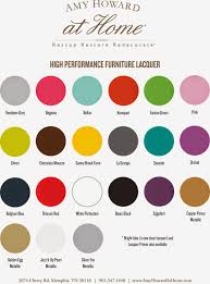 Amy Howard Paint Chart Amy Howard Lacquer Paint Very Nice Lacquer Spray Paint