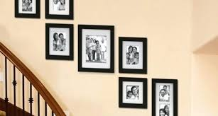picture frames on staircase wall. Image Of Click To Enlarge Pictures On Staircase Wall Creative Decorating Ideas Art Frames Stairs Designs Picture A