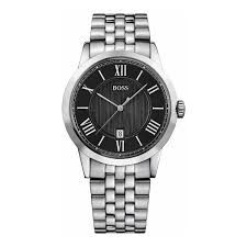 men s hugo boss black dial bracelet watch £199 00 1512428 hb hugo boss 1512428