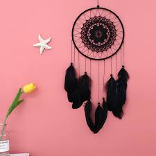 <b>Handmade Indian Style</b> Wall Hangings Feather Net Dream Catcher ...